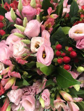 Bouquet rosa e rosso
