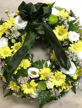 Coroncina funebre mista