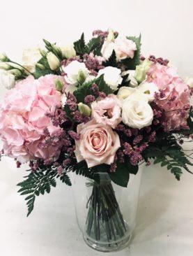 Bouquet prestige misto rosa e bianco